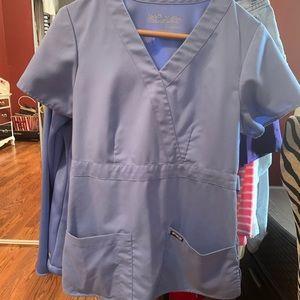 Grey's Anatomy Ceil Scrub Top Size S
